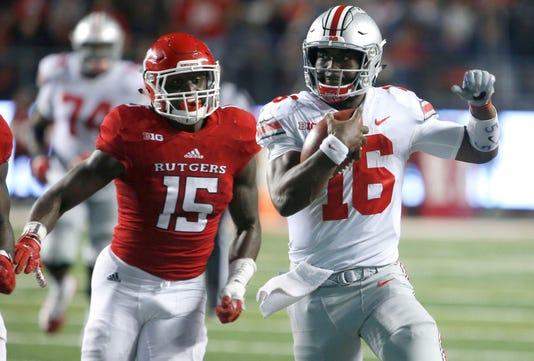 Ncaa Football Ohio State At Rutgers
