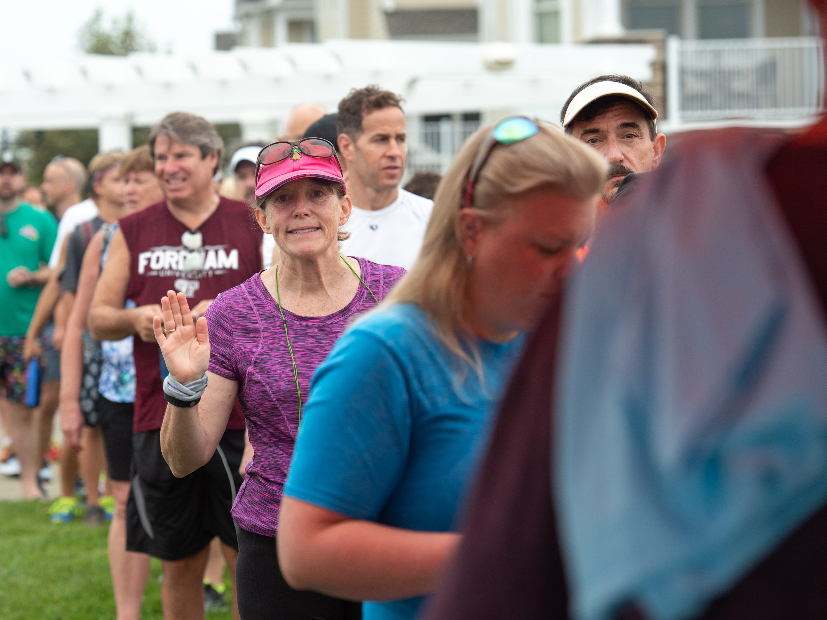 The Pier House 5K run was held along the ocean in the north end of Long Branch on Monday, September 3, 2018.  / Russ DeSantis for the Asbury Park Press