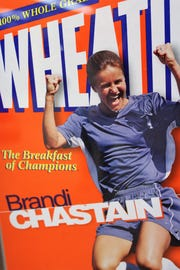 Our sports heroes (and heroines) are celebrated in many ways, from candy bars to the cover of a famous cereal box.