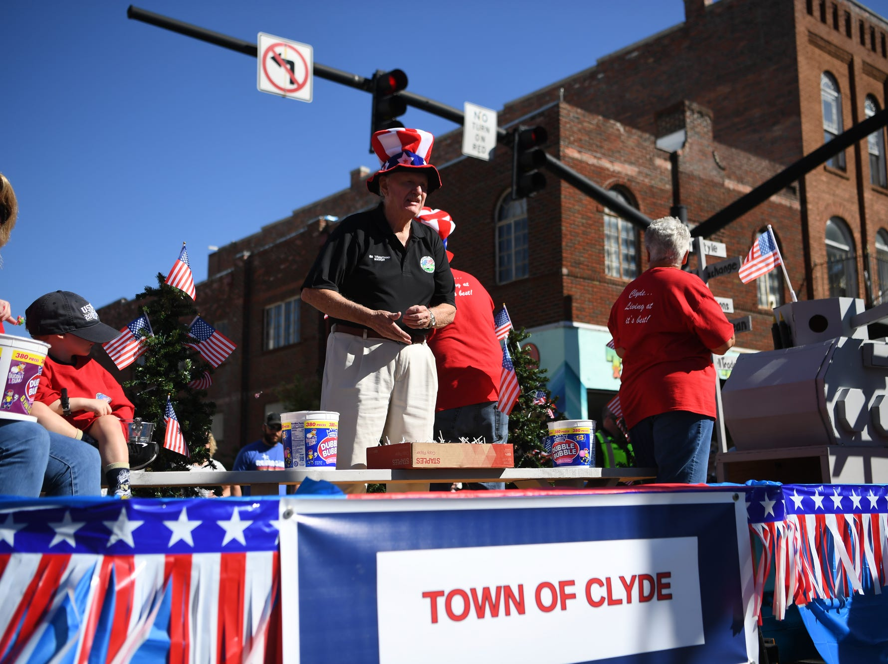 Canton celebrated Labor Day with a parade through downtown September 3, 2018.