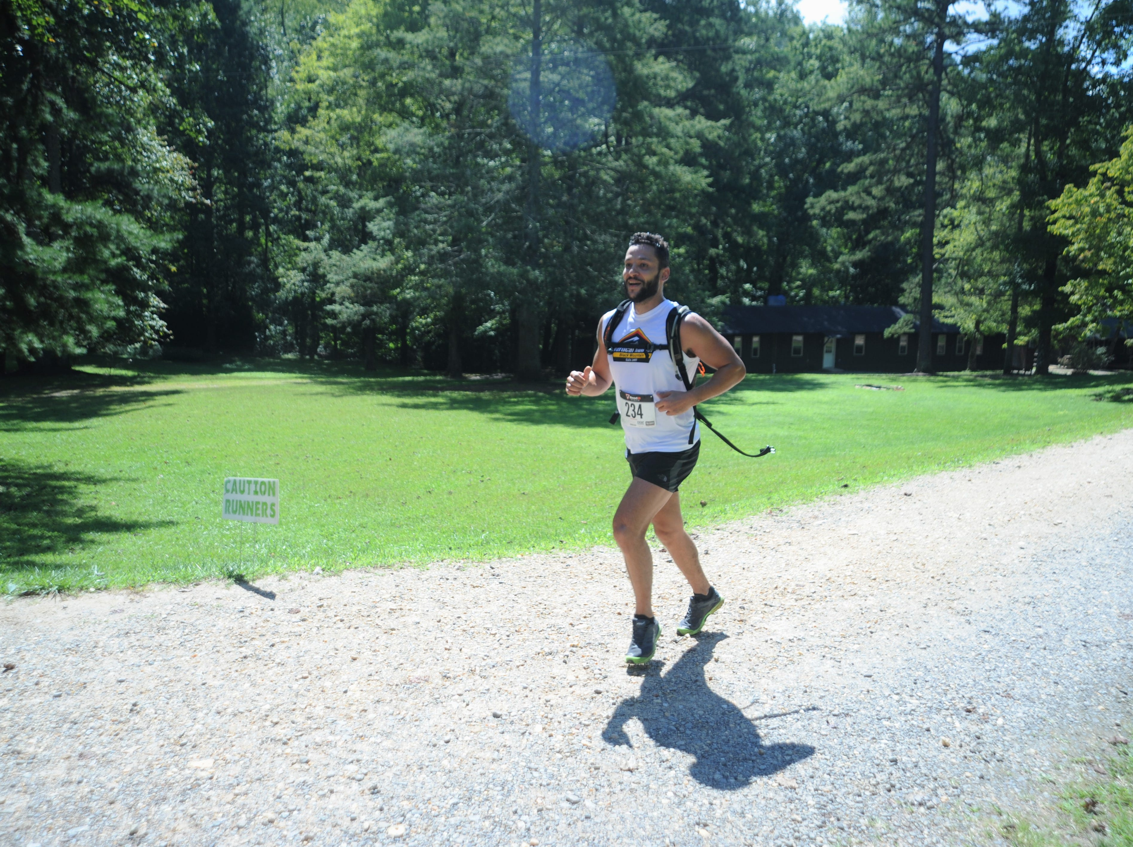 The second annual Gateway 5K & 10K was held at Camp Grier in Old Fort on Monday, Sept. 3. The race featured runners, many from Black Mountain, taking on the trails that wind through the scenic campground.