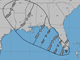 At 8:30 a.m. Sept. 3, 2018, Tropical Storm Gordon was 20 miles west of Key Largo.