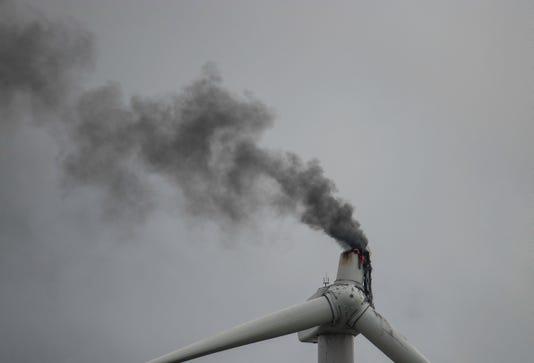 Turbine On Fire 1 Of 1