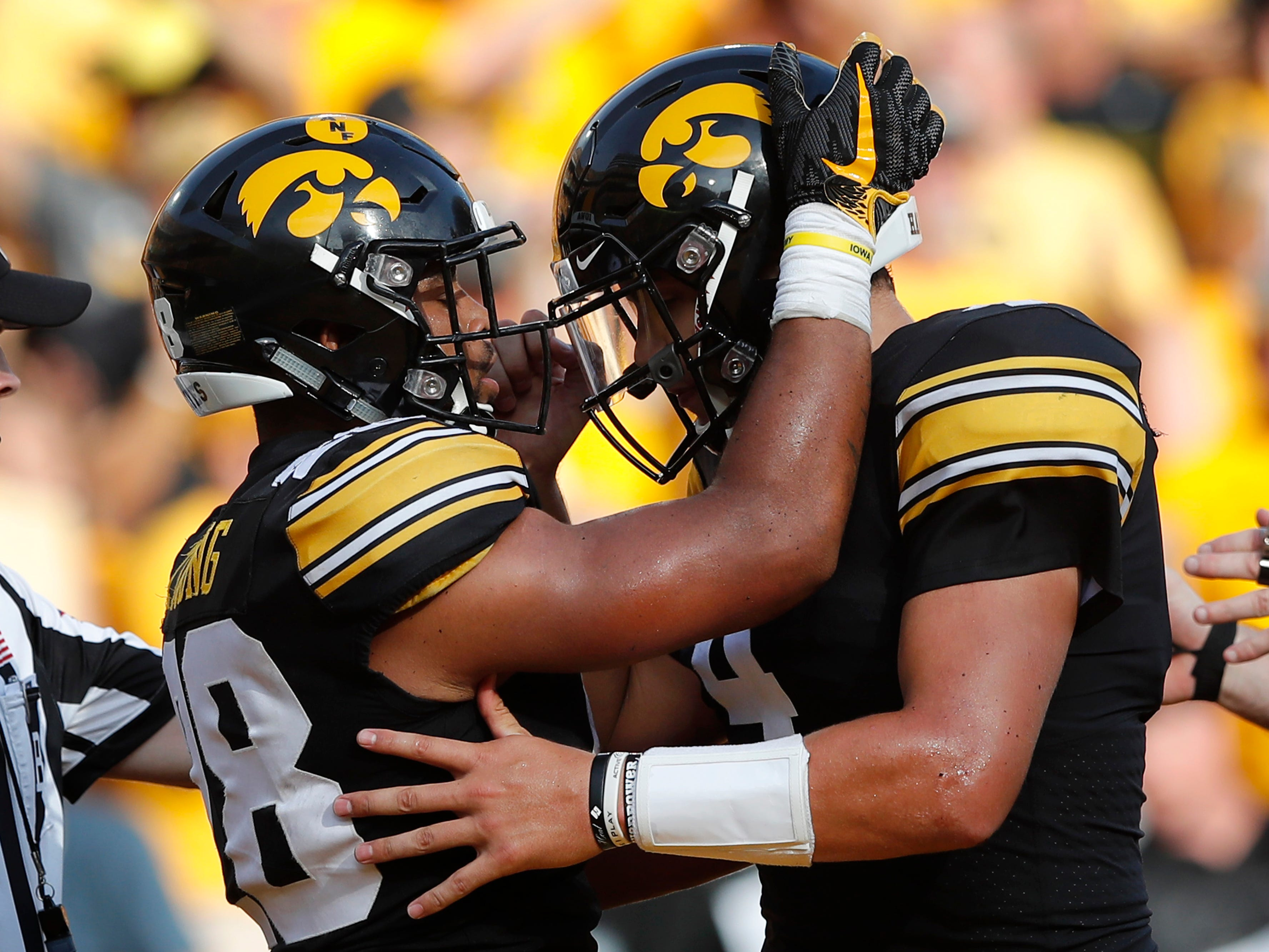 6. Iowa   Last game: Defeated Northern Illinois, 33-7   Preseason ranking: 7