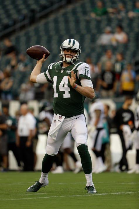 Sam Darnold named starter for New York Jets  opener vs. Detroit Lions a57af38d6