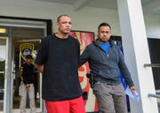 Brian Kevin Cruz, the man accused of kidnapping a woman last year, which was captured on surveillance video, is scheduled to start trial next week. PDN file photo.