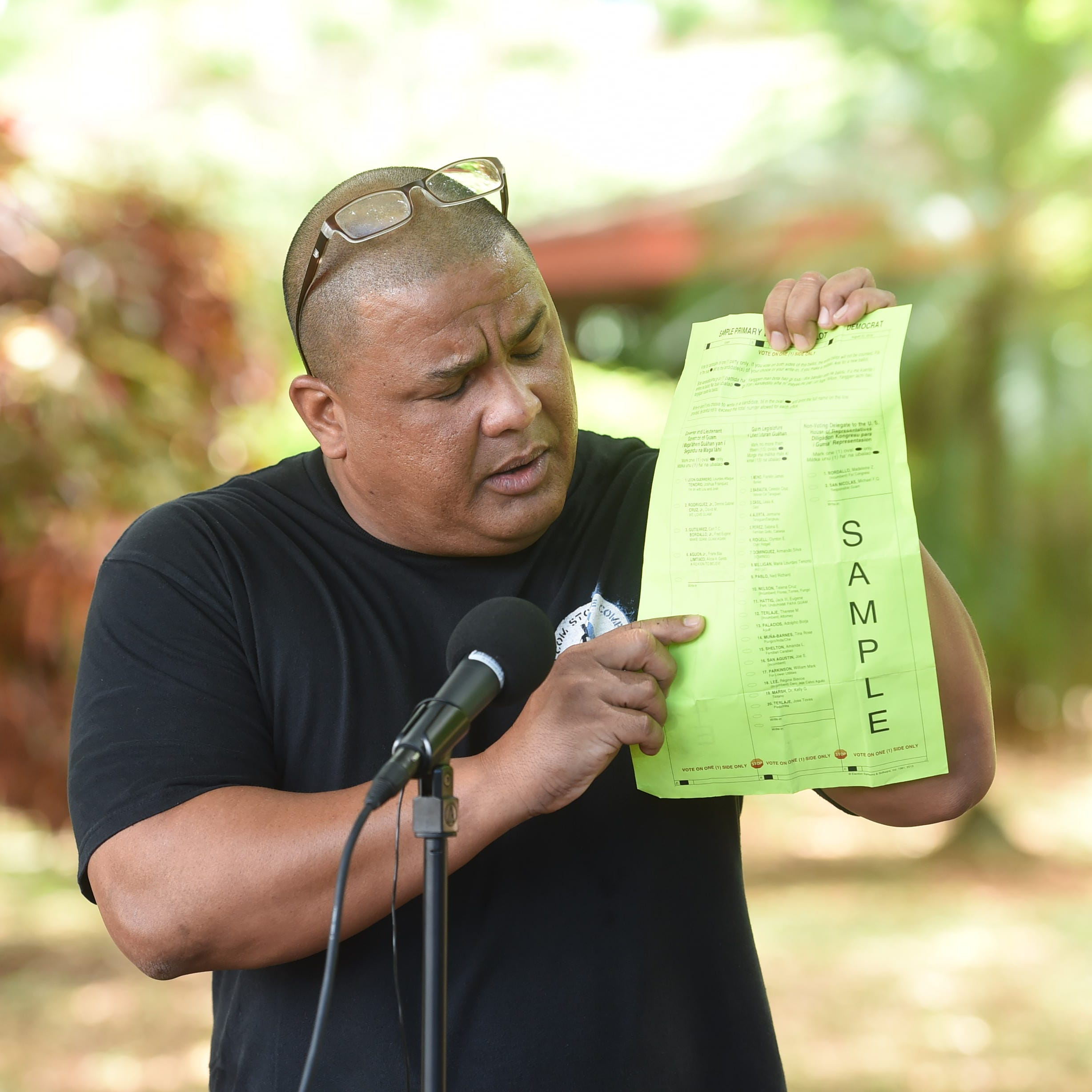 Complaint filed against teacher who leads Guamanians for Fair Government