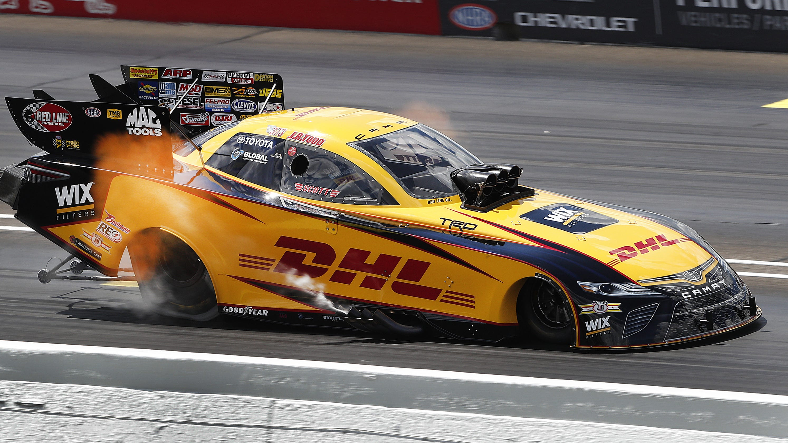 NHRA U S  Nationals: What drag racers do before they floor it