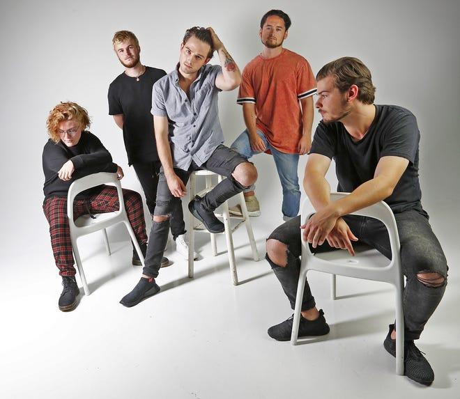 The Wldlfe (from left, Carson Hogan, Jansen Hogan, Jack Crane, Geoff Jones, and Jason Boucouras) will perform Friday, Sept. 7, at Old National Centre.