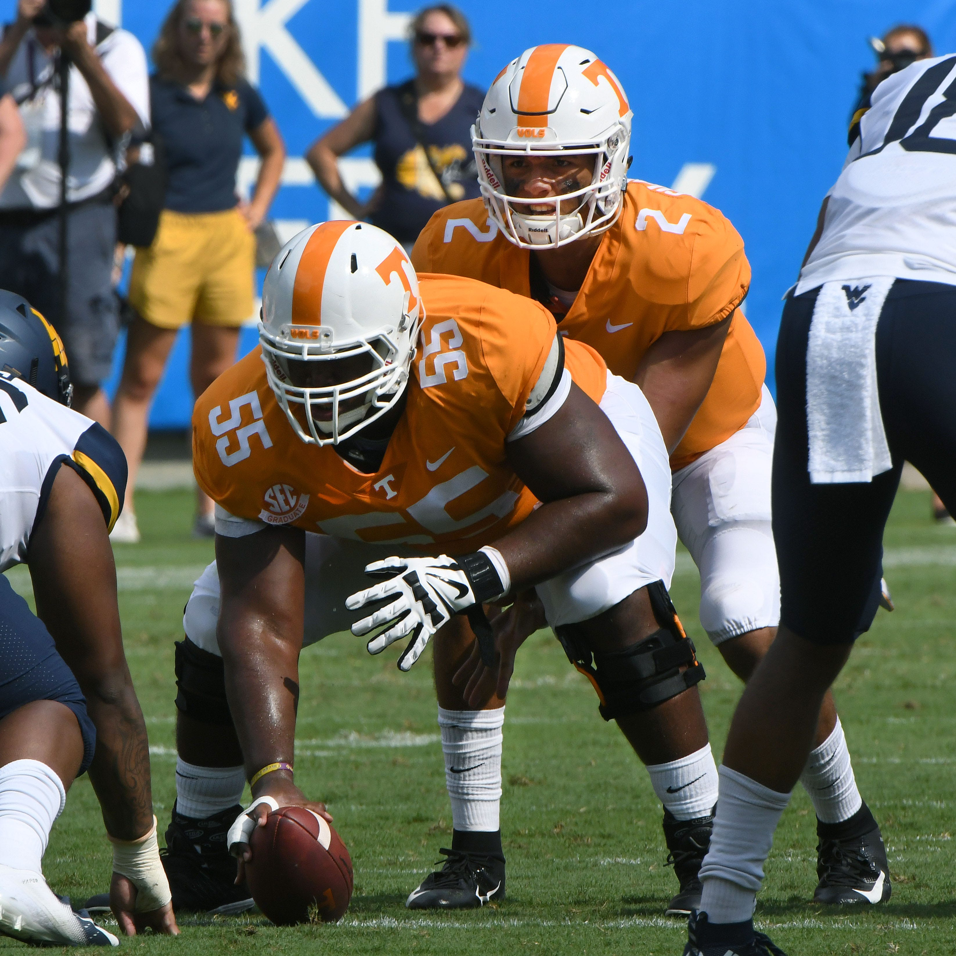 UT Vols starting center Brandon Kennedy suffers season-ending ACL injury in practice