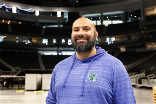 Fiserv Forum General Manager Raj Saha.