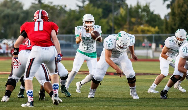 Greendale quarterback Sean Sanchez (49)  is one of our player of the week honorees.