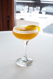 Sidecar made with Hennessy VS, Cointreau and fresh citrus is one of two new dessert cockatils on Ocean Prime's menu.