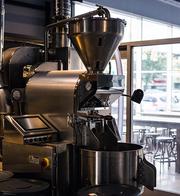 Bean & Bean's heavy duty coffee roaster