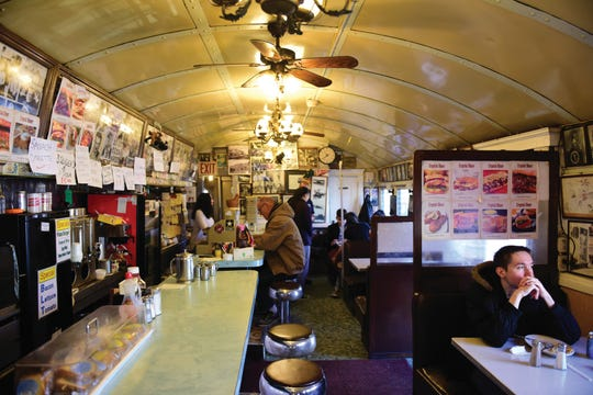 The Crystal Diner in Dumont