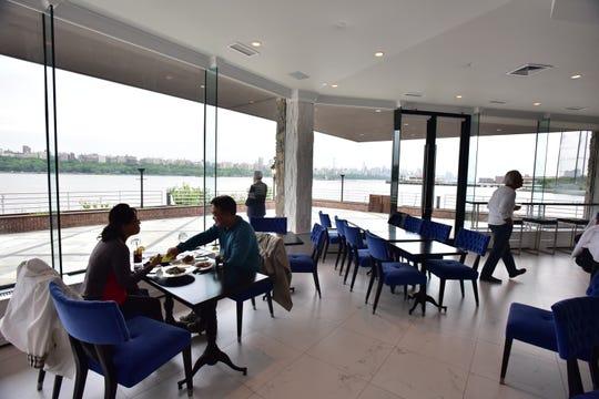 Ground floor, Orama restaurant in Edgewater. Photo by Marko Georgiev/Staff