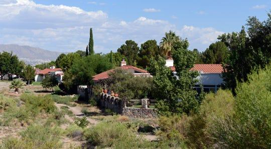 Homes in the Casas Bellas neighborhood in Santa Teresa.