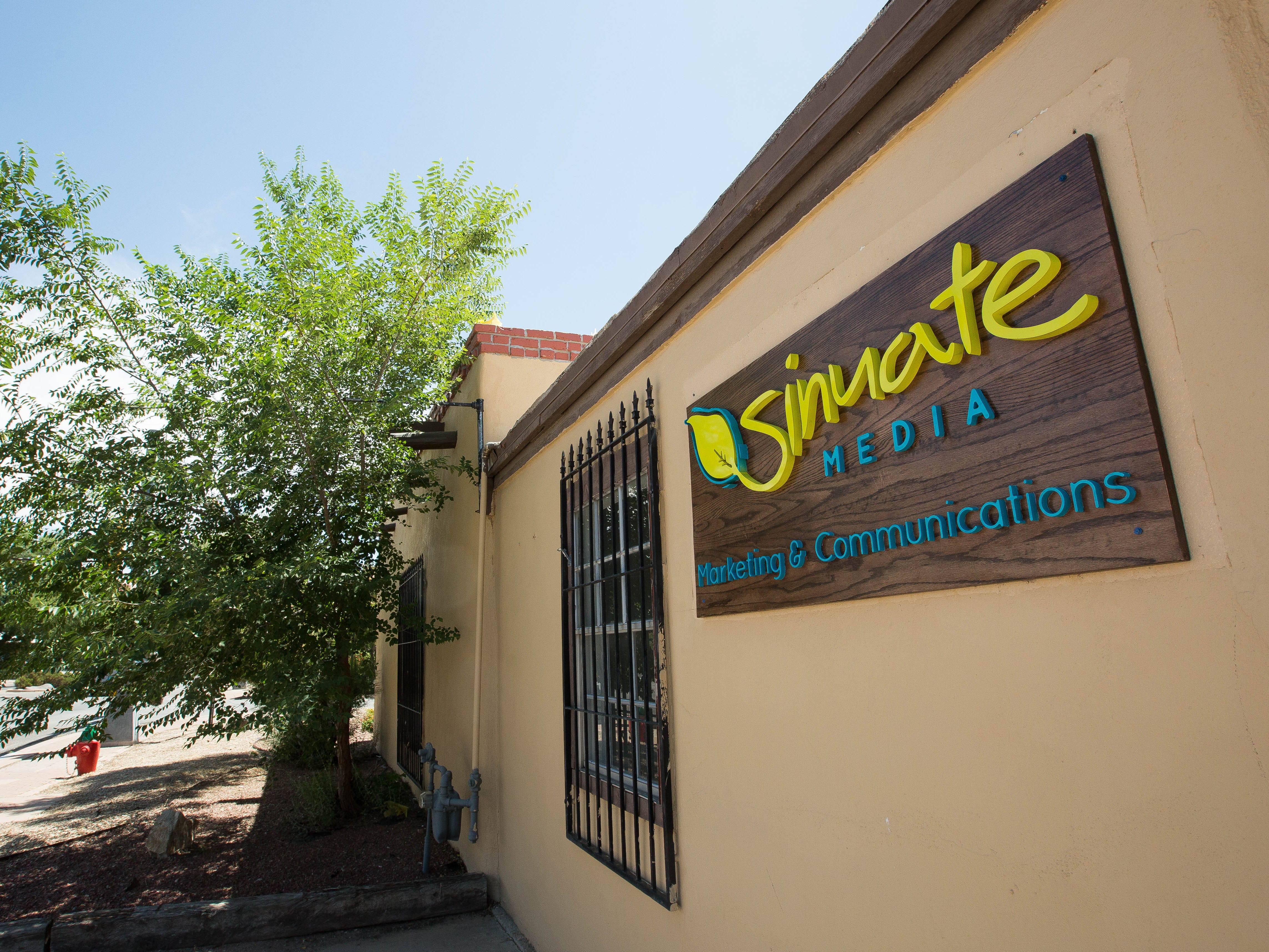 Marketing and communications firm Sinuate Media just held a ribbon-cutting for its new offices in Mesilla, as seen on Friday, Aug. 31, 2018.