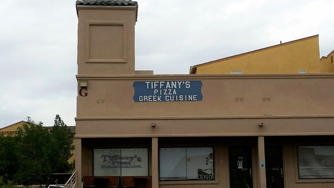 Tiffany's Pizza & Greek Cuisine is located at 755 S. Telshor Blvd., Las Cruces.