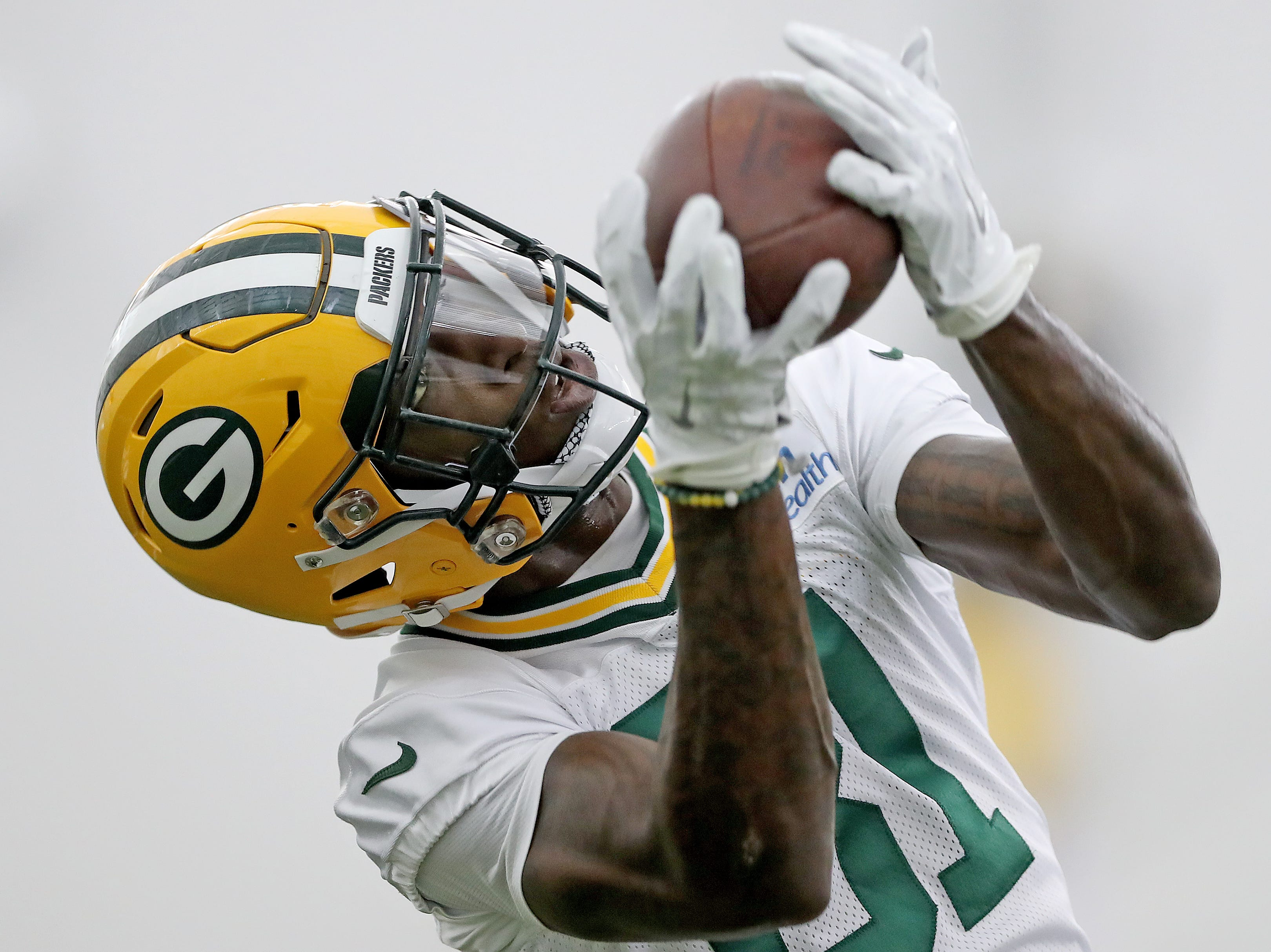 Green Bay Packers wide receiver Geronimo Allison (81) during Packers practice in the Don Hutson Center Monday, September 3, 2018 in Ashwaubenon, Wis