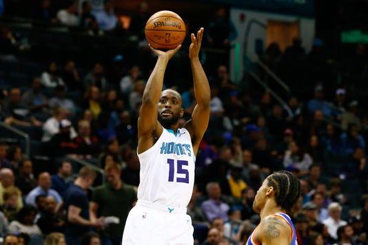 Nba New York Knicks At Charlotte Hornets