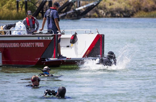 Colorado River Boat Crash Search