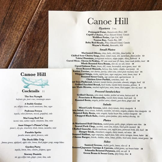 The menu at Canoe Hill in Millbrook is a rotating array of flavors fresh and familiar, cleverly remixed for the ideal balance of comfort and excitement.