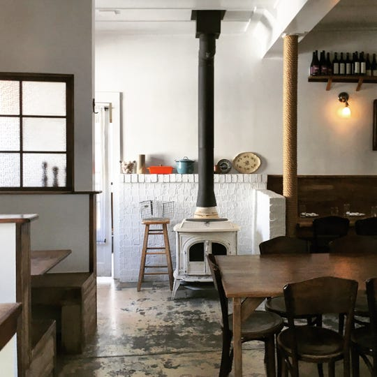 In an intimate space tucked behind a courtyard off Franklin Avenue, veteran chef Michael DelGrosso has painstakingly built a restaurant on local roots in every possible respect,