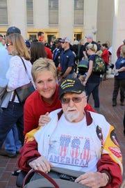 Bob Schmidt and daughter Penny Scruggs.