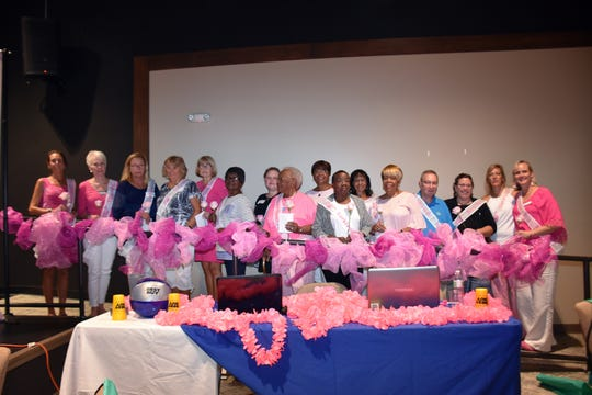 Breast cancer survivors are recognized at the Making Strides Against Breast Cancer of Indian River County kickoff rally and informational meeting Aug.28 at the Christ Church9.23 Community Center.