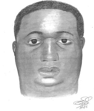 This composite sketch depicts a man who sexually assaulted a woman at the Hunters Crossing apartment complex in Ogletown on Sept. 2.