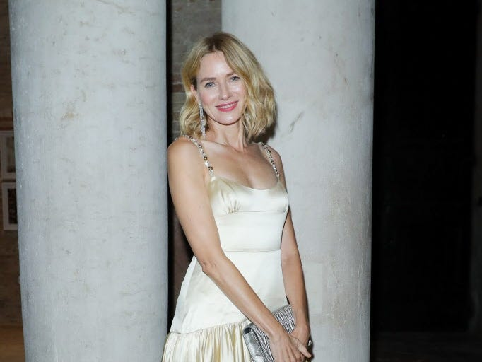 VENICE, ITALY - SEPTEMBER 02:  Naomi Watts attends Miu Miu Women's Tales Dinner during Venice Film Festival  on September 2, 2018 in Venice, Italy.  (Photo by Vittorio Zunino Celotto/Getty Images) ORG XMIT: 775215808 ORIG FILE ID: 1026264348
