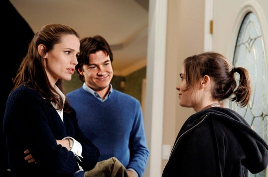 "Jennifer Garner and Jason Bateman play prospective adoptive parents to Ellen Page's baby in 2007's ""Juno."""