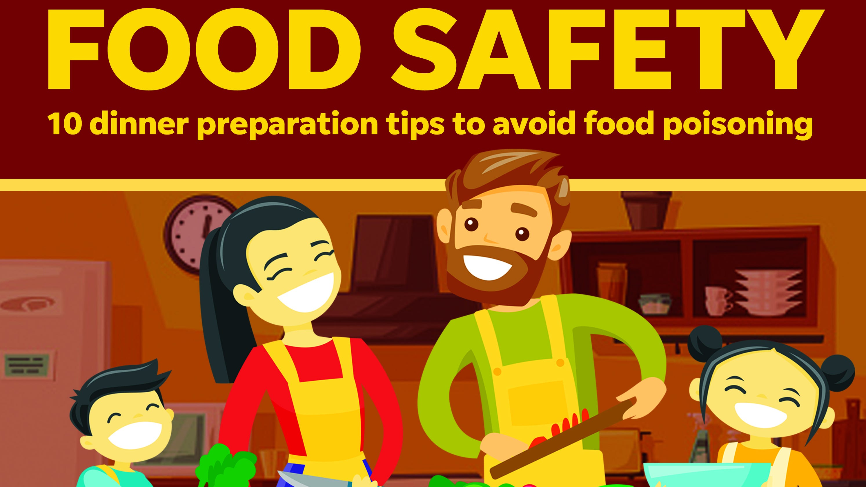 Food poisoning prevention advice from FVTC culinary arts