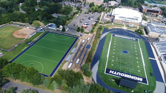 Monmouth's field hockey field and outdoor track received surface upgrades ahead of the new school year.