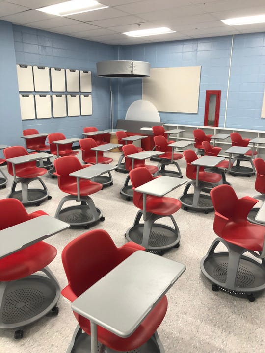 """Toms River Regional School's new """"Body Lab"""" at High School East is ready for students."""