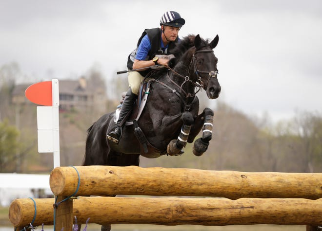 Boyd Martin and Tsetserleg compete earlier this year during cross country at the Fork CIC3* serving as the 2018 World Equestrian Games Test Event at the Tryon International Equestrian Center. Martin spends winters training in Aiken, South Carolina.