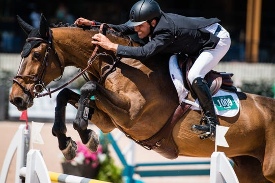 """Jumping, the most popular equestrian sport, is a mix of courage, control and technical ability that takes horse and rider over 10 to 13 """"knockable"""" obstacles."""