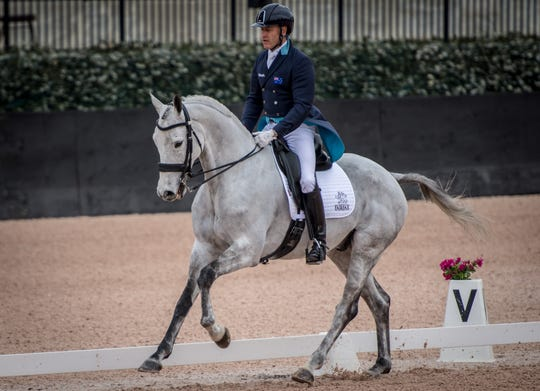 Eventing is a three-day equestrian competition in which riders compete in dressage, cross-country and jumping on the same horse.