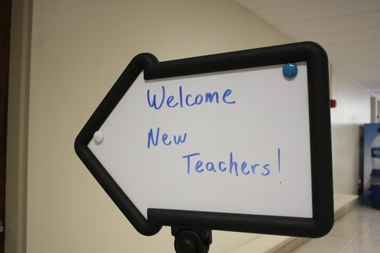 The Vestal Central School District held its New Teacher Orientation at the Vestal Administration Offices on Aug. 29.