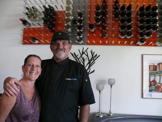 Isabelle and Yvan Heraud recently celebrated their first anniversary as owners of Trend Kitchen in Indian Harbour Beach.