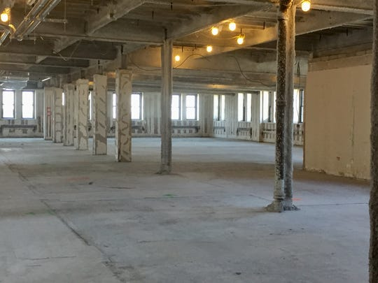 Vacant space is available for an office tenant at the former site of a jail in Camden City Hall.