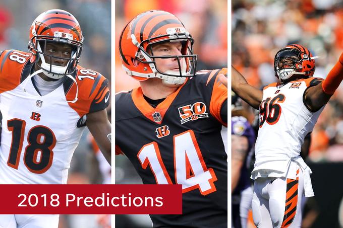 d6937d5e00b 2018 Cincinnati Bengals predictions composite. Buy Photo. Cincinnati Bengals  beat reporter Paul Dehner Jr. ...