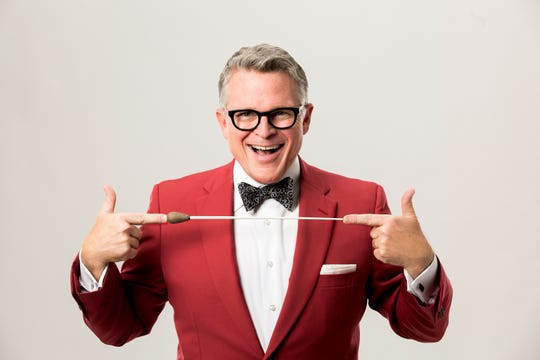 John Morris Russell, conductor of the Cincinnati Pops Orchestra
