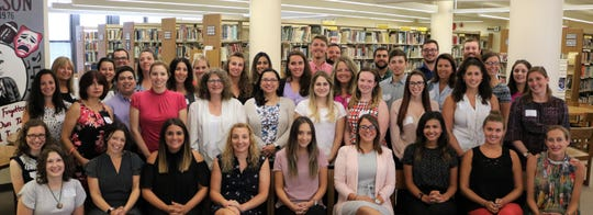 Nearly 40 new teachers and education professionals are joining the Westfield Public Schools for the 2018-2019 school year.