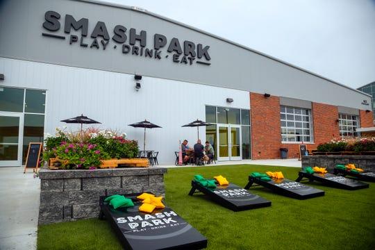 Smash Park, an an activity-based restaurant and bar Aug. 14, 2018.