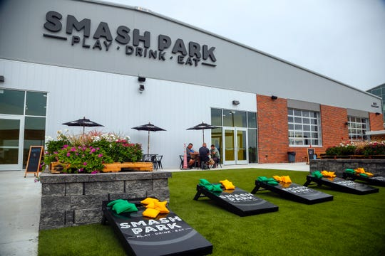 Smash Park, an an activity-based restaurant and bar Aug. 14, 2018.