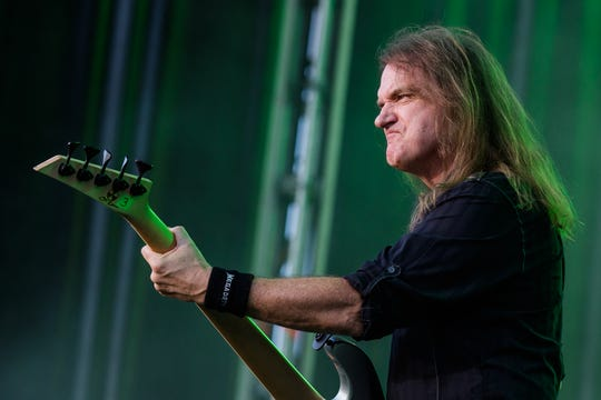 David Ellefson, Megadeth bassist and inductee in the Iowa Rock 'n' Roll Hall of Fame.