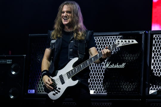 David Ellefson, Megadeth bassist and inductee into the Iowa Rock 'n' Roll Hall of Fame.