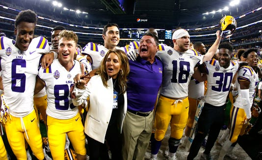 Ap Miami Lsu Football Txrj12